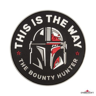 Star Wars This is The Way The Bounty Hunter frontal