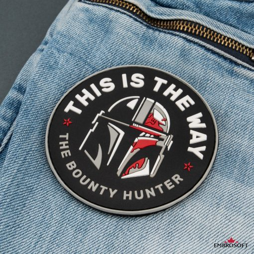 Star Wars This is The Way The Bounty Hunter jeans