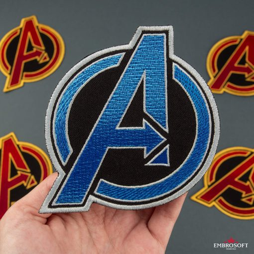 The Avengers BLUE in hand