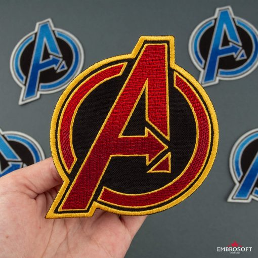The Avengers RED in hand