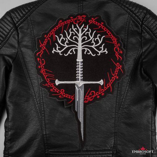 White Tree of Gondor Leather Jacket