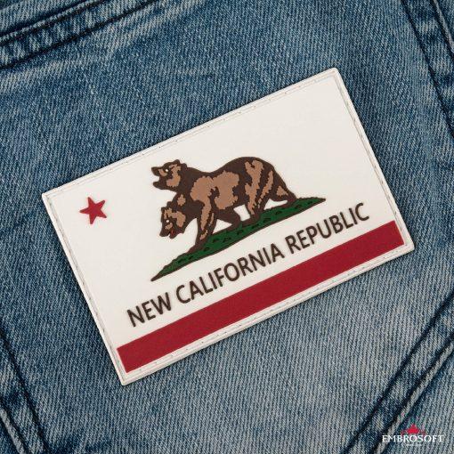 PVC Fallout New California Republic Flag back pocket jeans