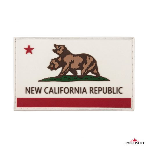 PVC Fallout New California Republic Flag frontal