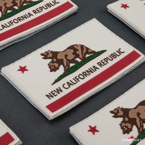 PVC Fallout New California Republic Flag incline
