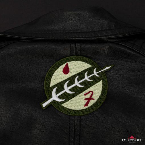 Star Wars The Mandalorian Boba Fett Crest back jacket