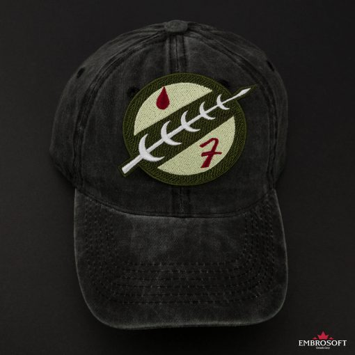 Star Wars The Mandalorian Boba Fett Crest black cap