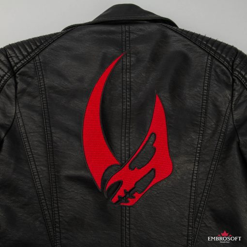 Star Wars The Mandalorian Mudhorn back jacket