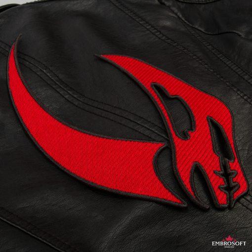 Star Wars The Mandalorian Mudhorn back jacket incline