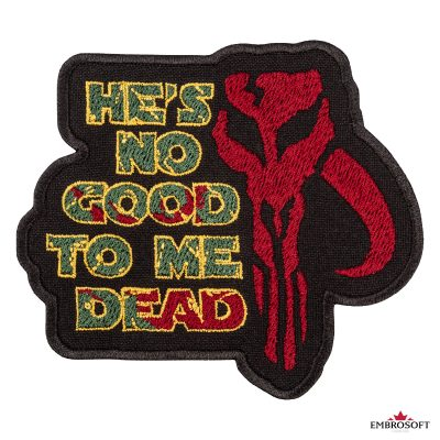 Star Wars The Mandalorian with text frontal