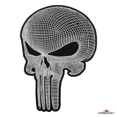 punisher skull frontal