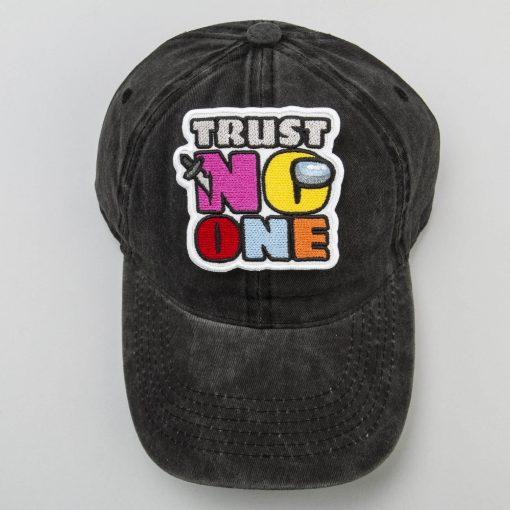 trust no one black cap