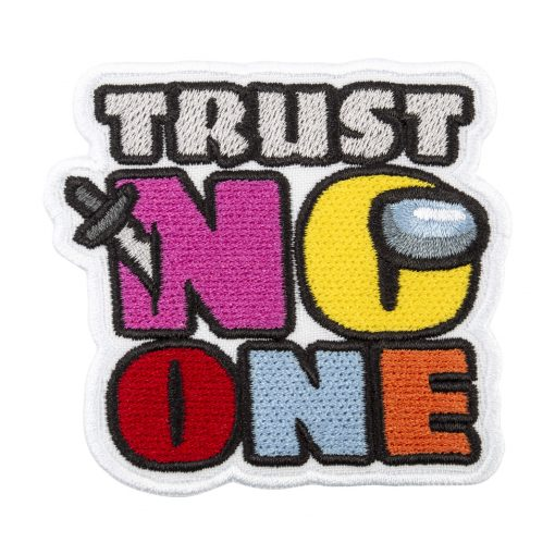 trust no one black front