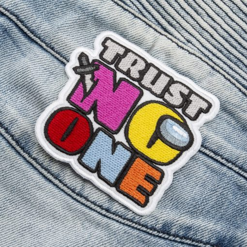 trust no one front jeans