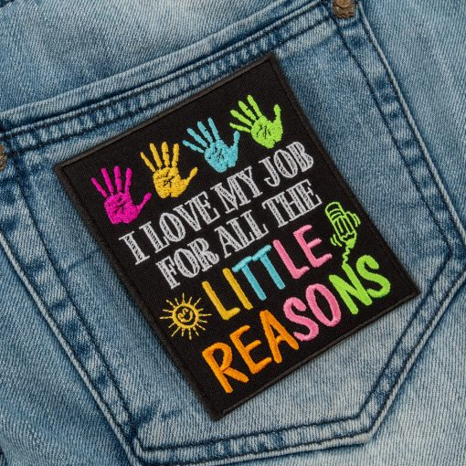 I love my job for all the little reasons back pocket jeans