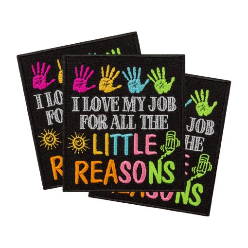 I love my job for all the little reasons collage