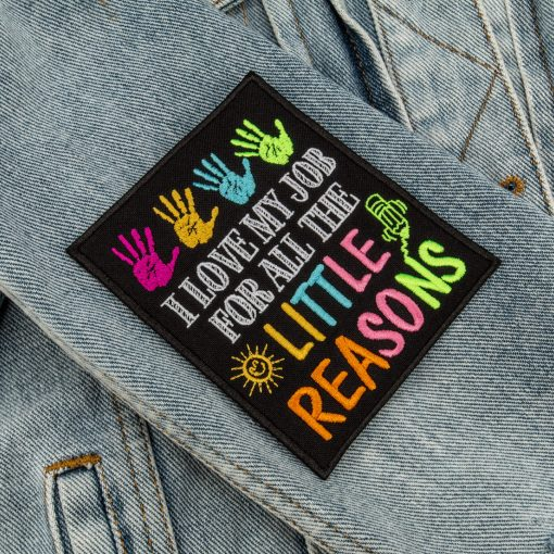 I love my job for all the little reasons sleeve jeans jacket
