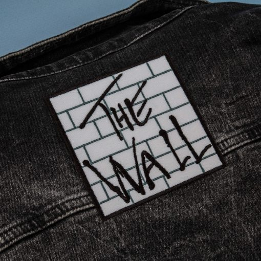 the wall back jeans jacket