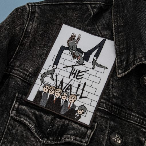 the wall jacket front