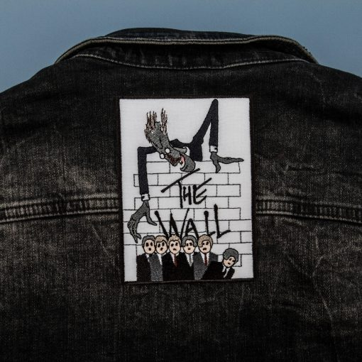 the wall jeans jacket back
