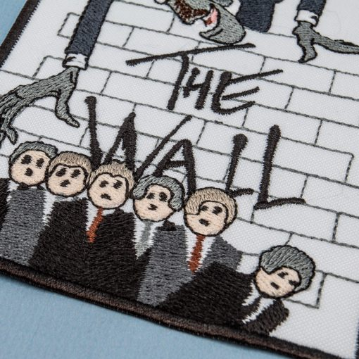 the wall text