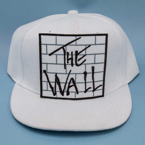 the wall white cap